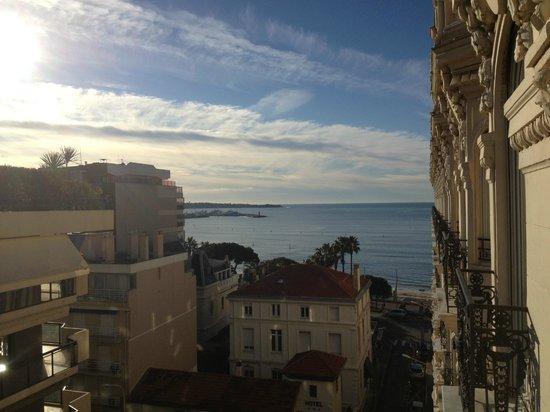 InterContinental Carlton Cannes: La vue de notre chambre