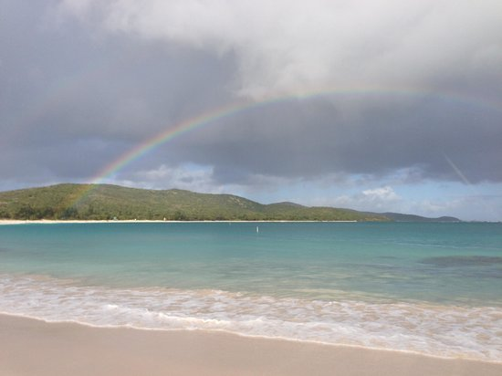 Culebra Beach Villas: Flamenco Beach after Rainstorm