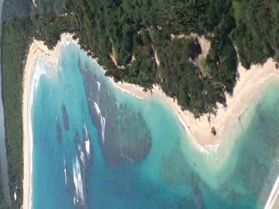 Culebra Beach Villas : Aerial View of Flamenco Beach