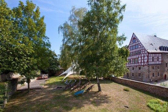 Schloss Beichlingen: Schlossterasse
