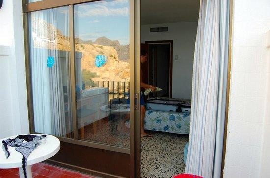 SENTIDO Don Pedro: Habitación desde el balcón
