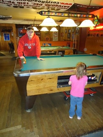 Cozy's Roadhouse : Love that Cozy's is kid friendly until 9p.m. Love taking the grandkids.