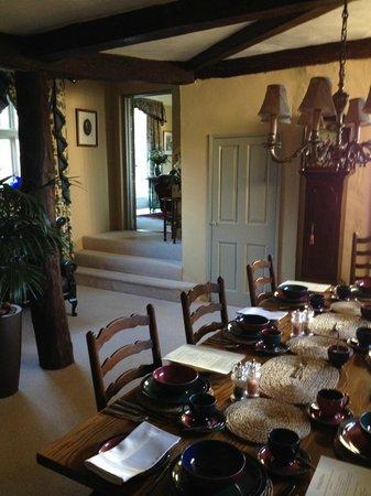 Stoke by Nayland B&B Poplars Farmhouse: Breakfast