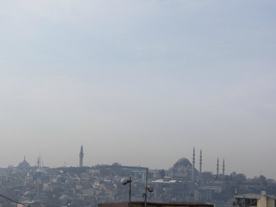 Louis Appartements Galata: View from the terrace