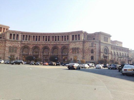 Tufenkian Historic Yerevan Hotel: Central square around the corner