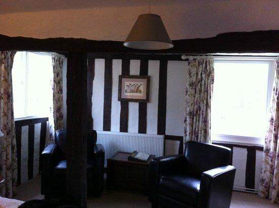 Stoke by Nayland B&B Poplars Farmhouse: The Beamed room