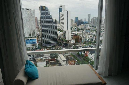 Pullman Bangkok Hotel G: View from room