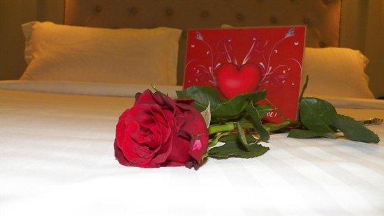 Louis Appartements Galata : Happy Valentines surprise!!!