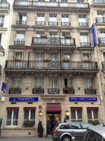 Timhotel Opera Gare Saint Lazare: ホテル外観