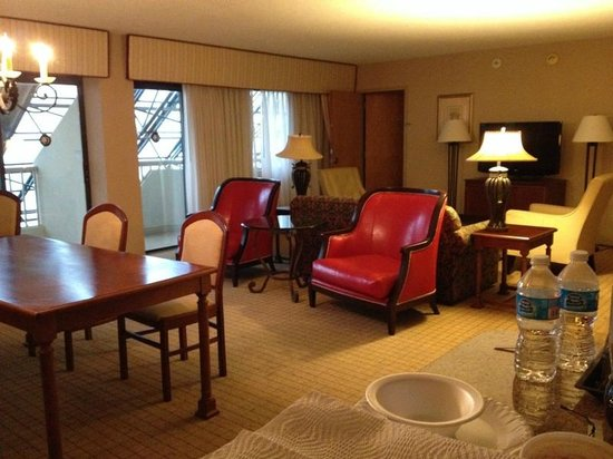 DoubleTree by Hilton Hotel Newark Airport : Suite