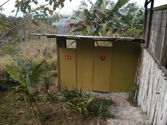 Finca Monte Claro: Toilet room and shower room