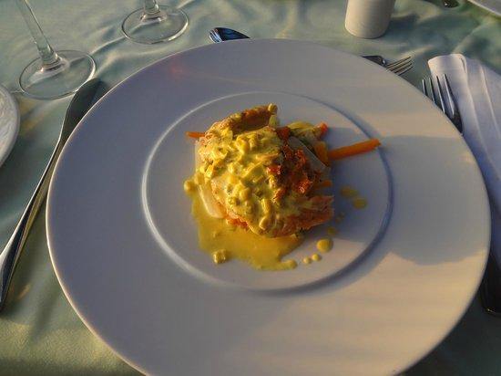 Astir Odysseus Resort & Spa: repas au restaurant italien