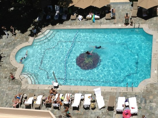 Moana Surfrider, A Westin Resort & Spa : pool view from room