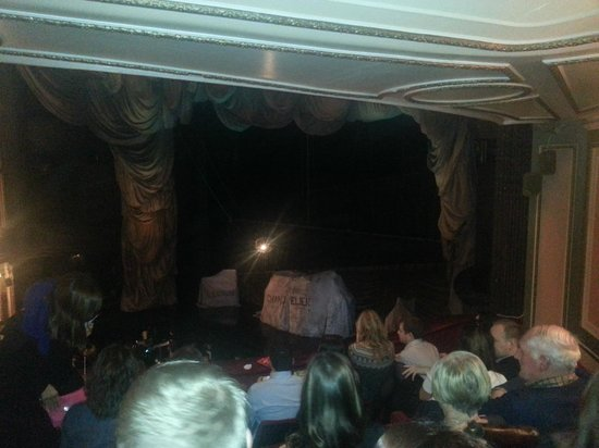 Phantom of The Opera London : great view from the royal circle