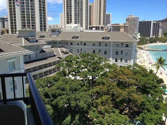 Moana Surfrider, A Westin Resort & Spa: view from balcony