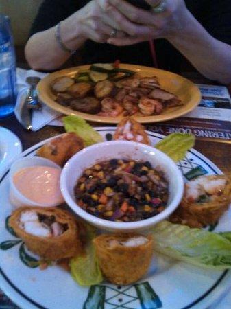 Marietta Fish Market: seafood & crab rolls!!!!