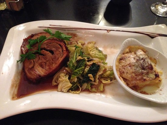 The Nelson Restaurant & Bar: Stunning pork belly
