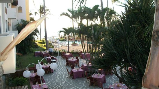 Plaza Pelicanos Grand Beach Resort: From our balcony