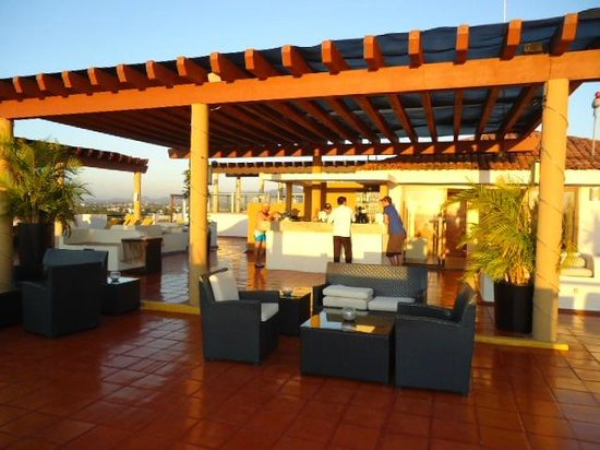 Plaza Pelicanos Grand Beach Resort: Roof Top