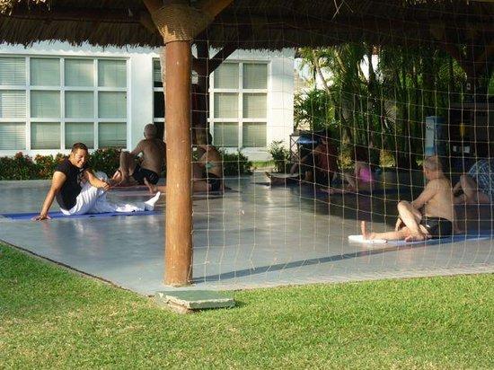 Club Med Ixtapa Pacific : Yoga hut.