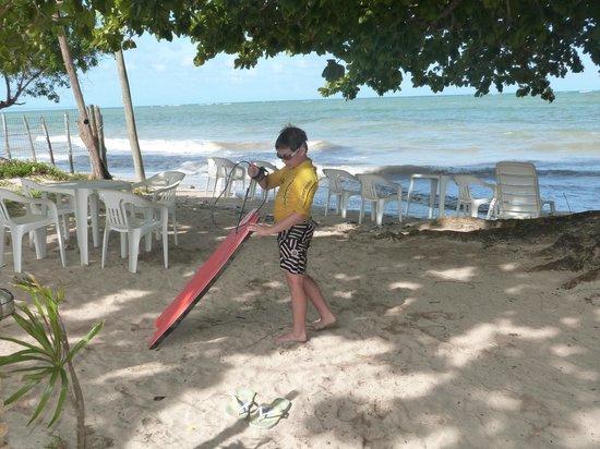 Pousada Tatiba: Playa