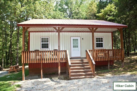 Willowbrook Cabins: 2 Bedroom Hiker Cabin   Shawnee National Forest Out The  Back Door!