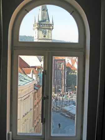 Ventana Hotel Prague: View from a top-floor bedroom