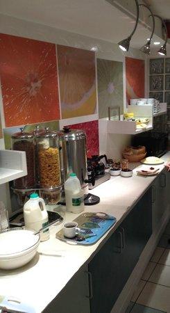 Leisure Inn: Petit-déjeuner