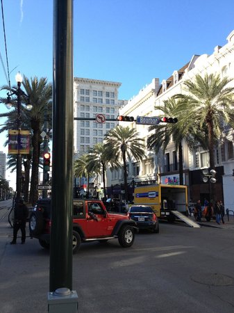 Sheraton New Orleans Hotel: The world famous Bourbon Street
