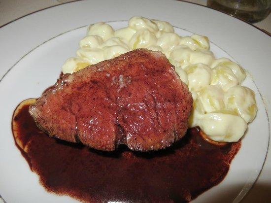 La Villa Mahana: Beef Tenderloin and Gnocchi
