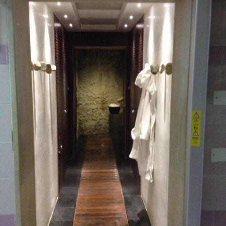 Olympia Terme Hotel : La grotta ai vapori termali