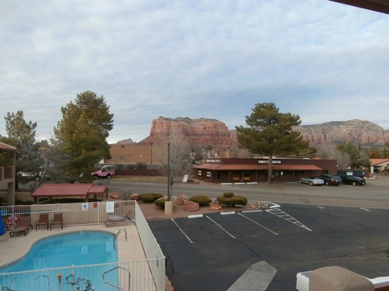 The Views Inn Sedona: my view from room 207
