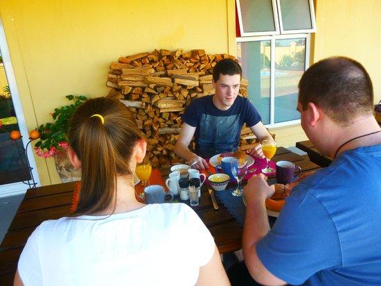 Cap Ou Pas Cap Guesthouse: heerlijk ontbijt