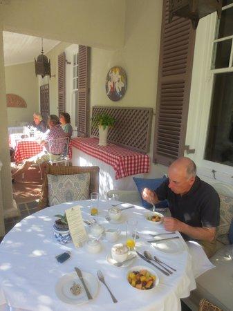 Parker Cottage: Wonderful Breakfast