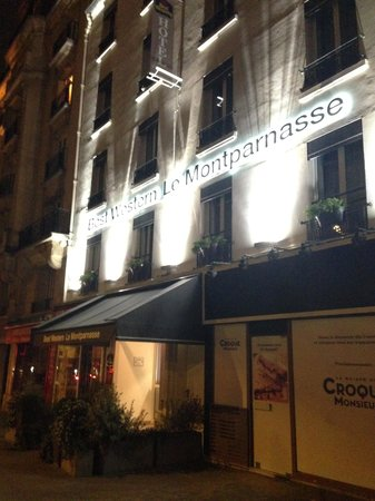 Best Western Hotel Le Montparnasse: Esterno Hotel
