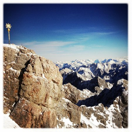 View from the Zugspitze lookout
