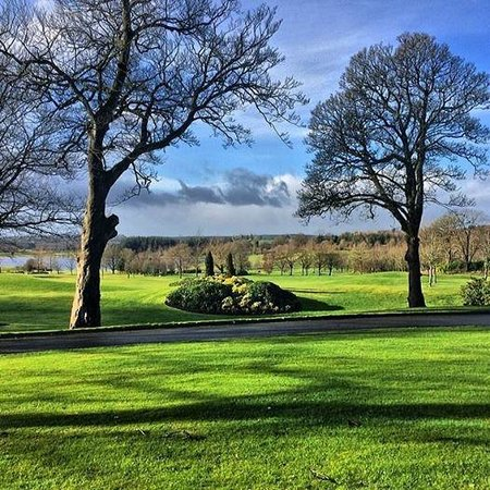 Slieve Russell Hotel Golf and Country Club: Saturduay morning walk around the ground