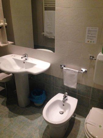 Hotel Poledrini: Il grande bagno della 204