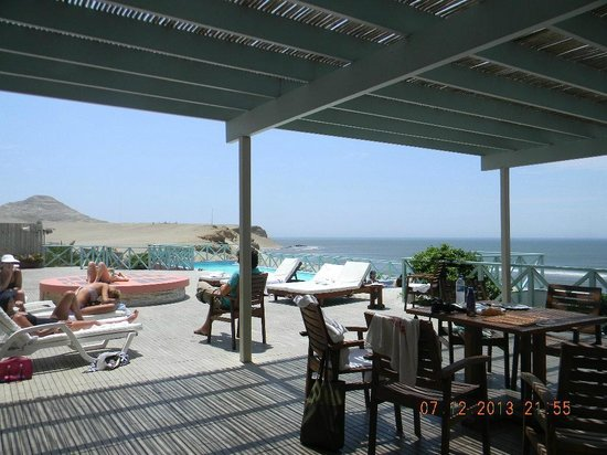 Chicama Surf Hotel & Spa: Pool view