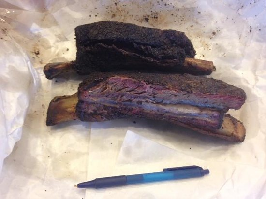 Louie Mueller Barbecue: Beef Ribs