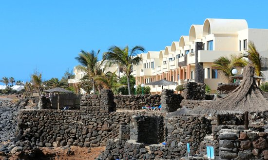 Royal Monica Playa Blanca : Les chambres vue mer