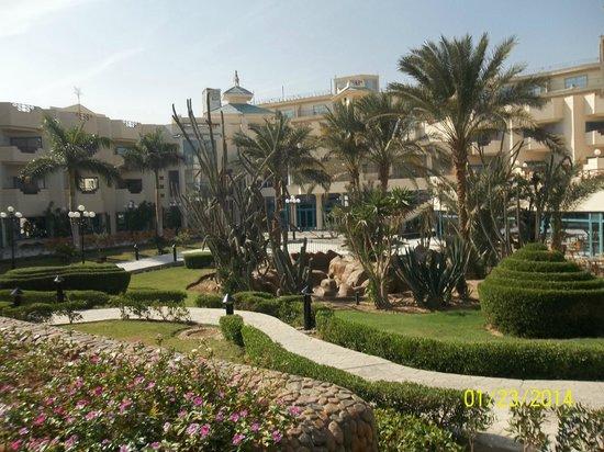 Montillon Grand Horizon Beach Resort: Територия отеля