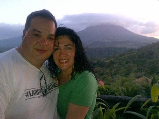Casa Lima B & B : Valentines Day at Arenal.