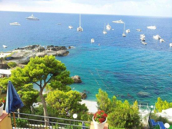 Hotel Weber Ambassador Capri: marina piccola