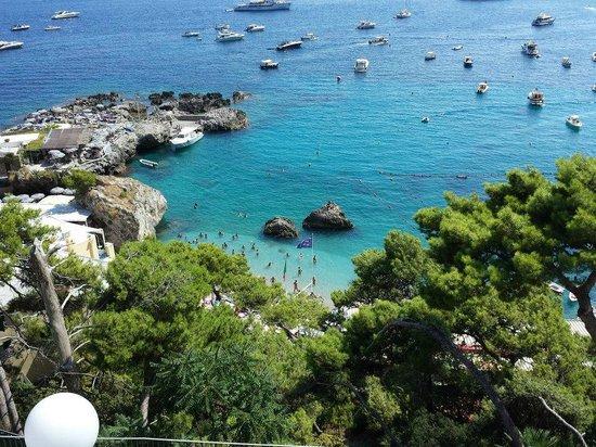 Hotel Weber Ambassador Capri: Weber vista