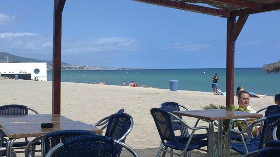 Hotel Miramar: Het strand
