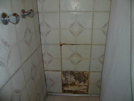 Los Medanos: Mal mantenimiento en ducha