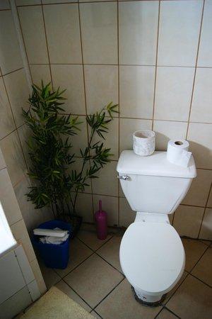 Backpacker's Hostel Iquique: Bathroom