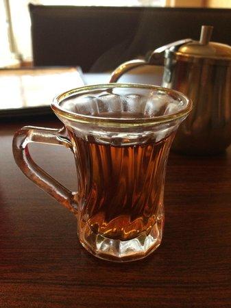 Sahara Cafe: Hot tea