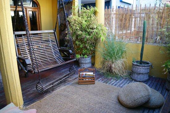 Backpacker's Hostel Iquique: Yard